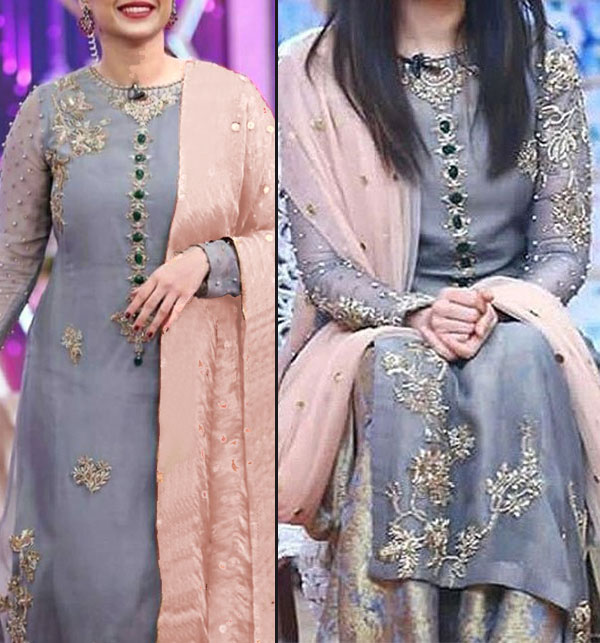 0137bad623ff Chiffon Dresses Collection 2019 Buy Online Pakistani Suits Chiffon  Embroidered