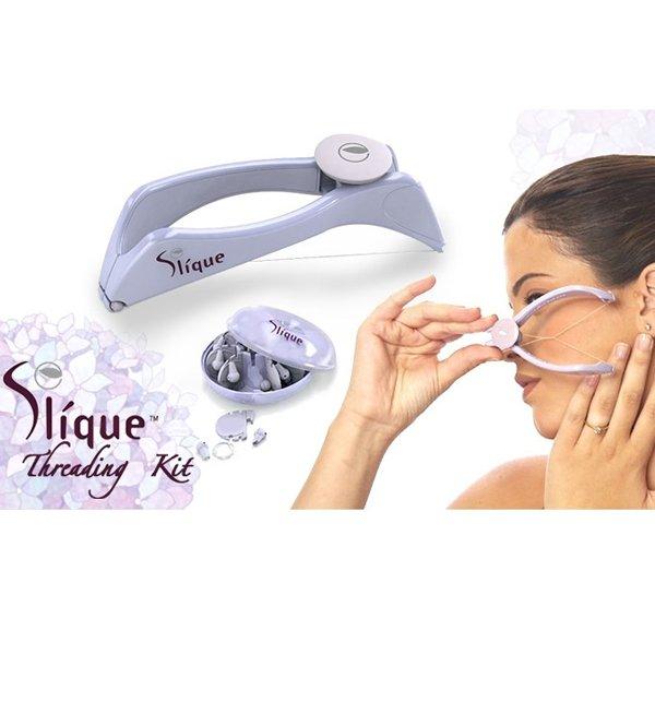 Slique Threading Kit Face & Body Hair Threading System