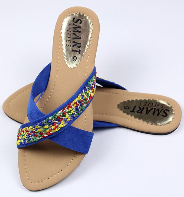 Fancy Women's Slipper - Blue