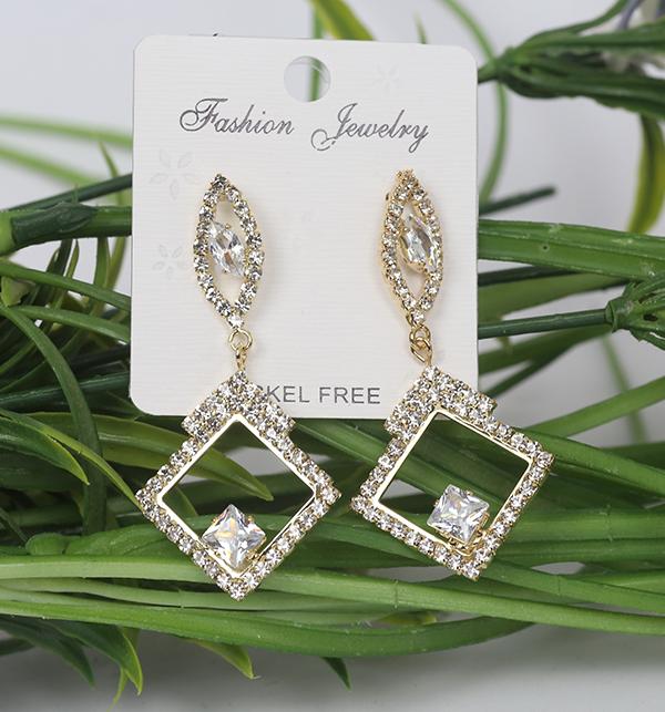 Fashion Zircon Earrings For Women (JL-07)