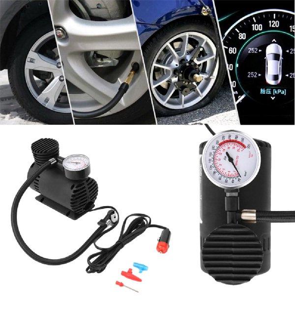 Fast Air Inflation Mini Car Air Compressor