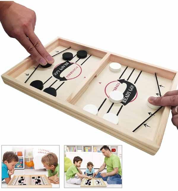 Kids Offer - Fast Sling Foosball Puck Game Board Game