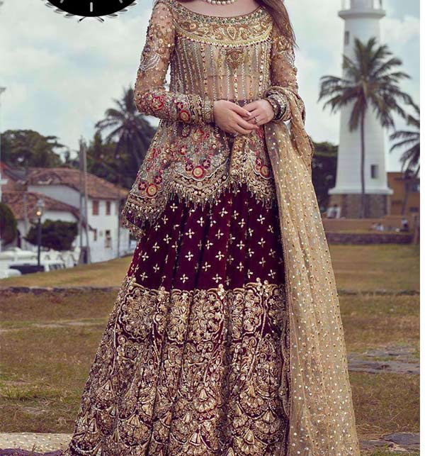 Bridal Collection Pakistani Wedding Dresses 2020 Suits Design Online