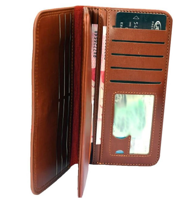 (11 11 SALE) Long Wallet - Multiple Carrying Slots for Cash, Cards