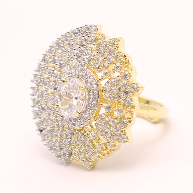 Gold & Diamond Look Ring RH 02 Price in Pakistan View Latest