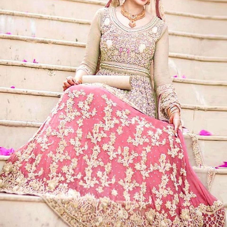 Heavy Embroidery Masoori Chiffon Dress Heavy Garara Unstitched 2019/2020 (CHI-186)