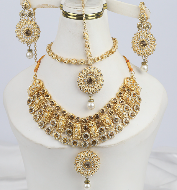 Indian Jewelry Set For Girls Latest Design Necklace 2021 (PS-303)
