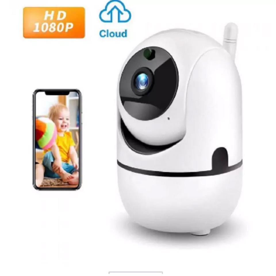 Ip Wireless 3D Tracking Mini Camera Y4Cza 2Mp Hd 1080P White