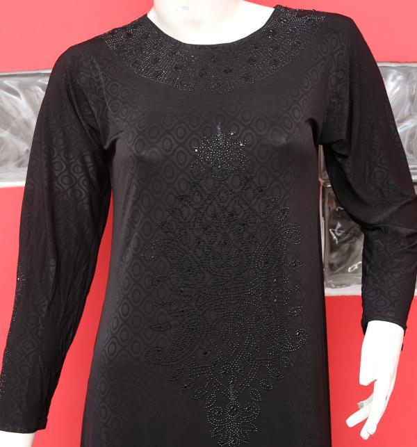 Jersey Fabric Abaya Women With Scarf (AB-52)