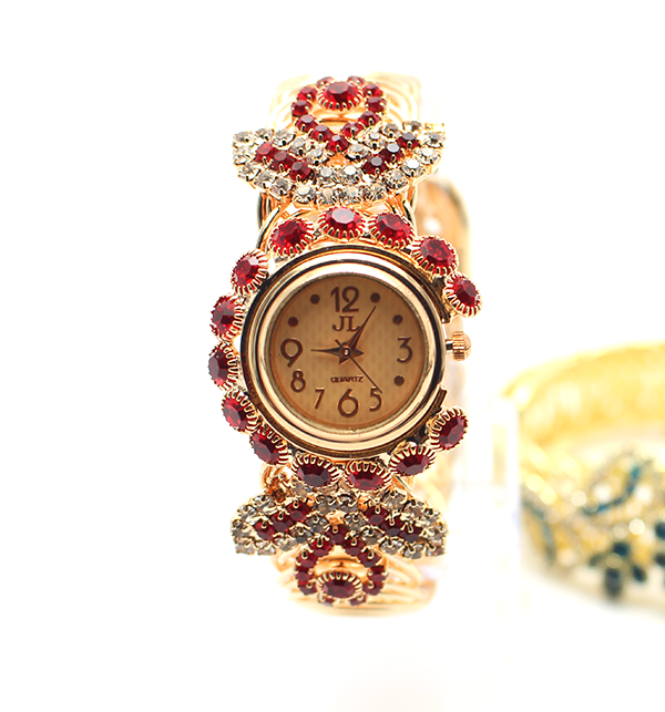 f33c7807821 Women s Stone Maroon Wrist Watch (CW-58)