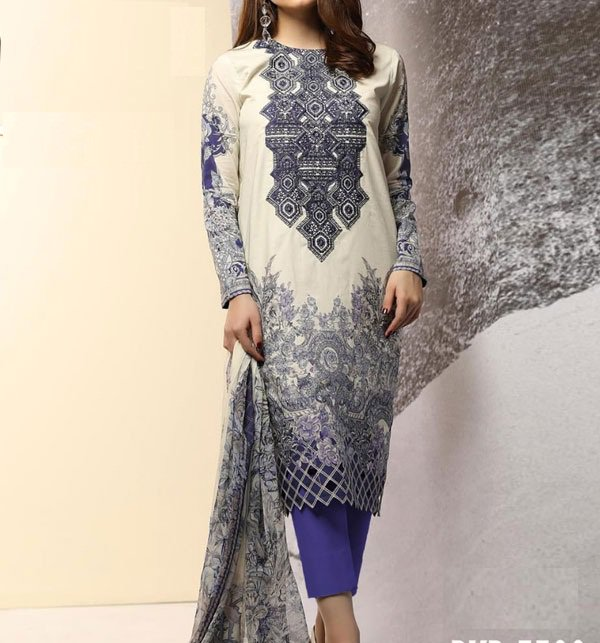 Khaddar Embroidery Suit 2019 2020 with Wool Shawl (Unstitched) (KD-47)