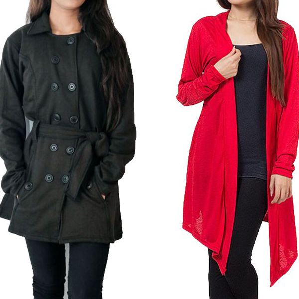 Ladies Coat Shrug Combo Deal Price In Pakistan