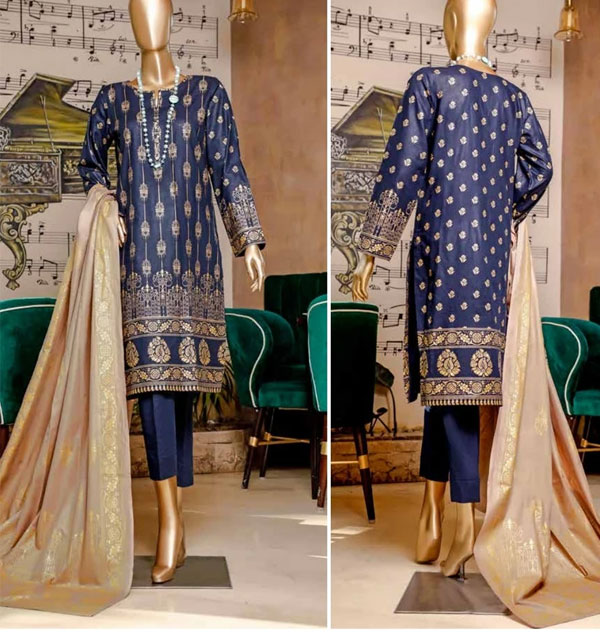 Eid Banarsi Lawn Suits 2020 With Lawn Dupatta (MBP-12) (Unstitched)
