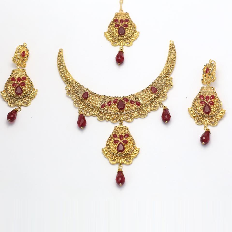 Latest bridal  jewellery designs 2020  - (PS-146)
