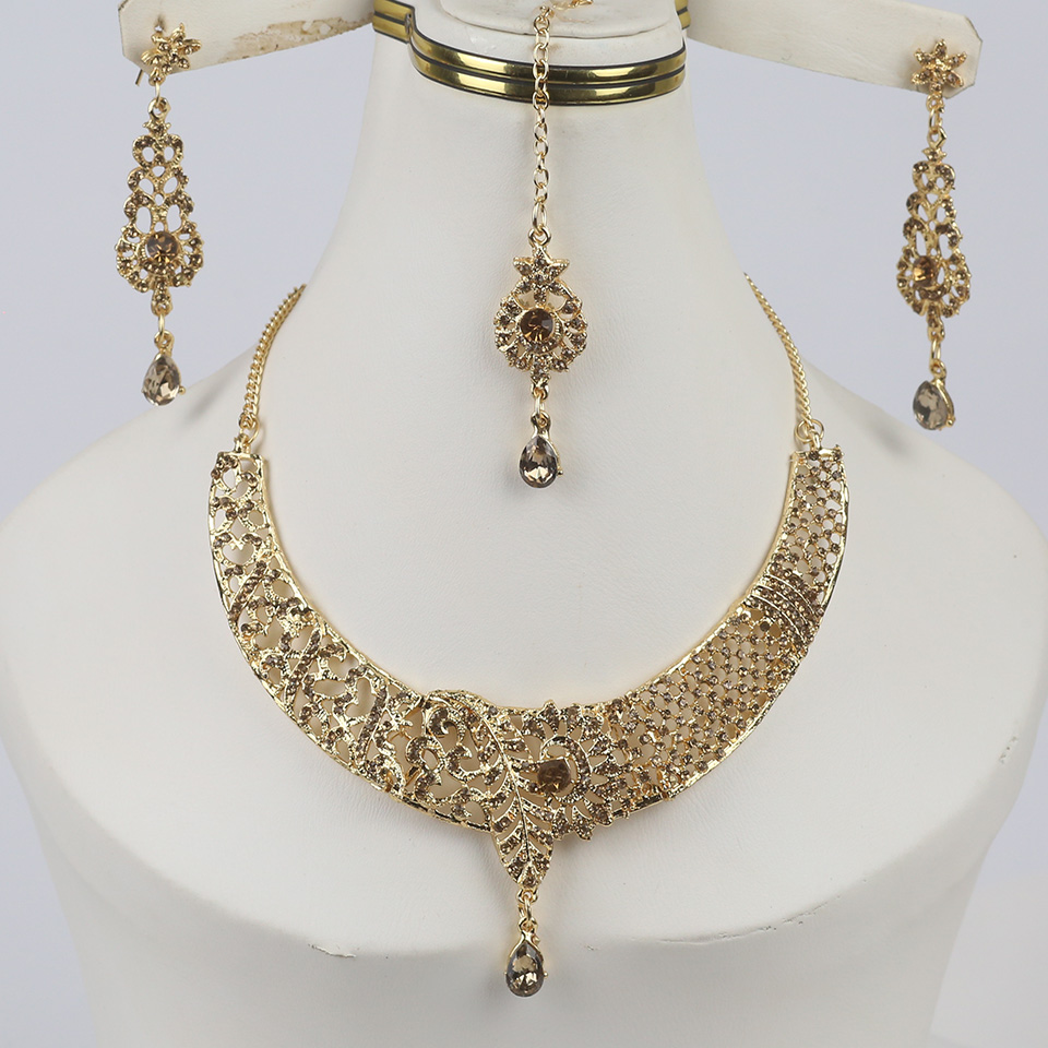 Latest Indian Jewelry Necklace  Set For Girls (PS-326)