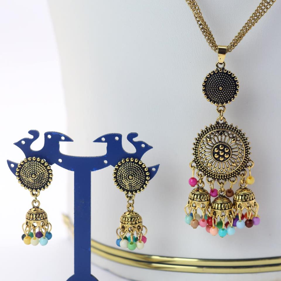 Latest Mala Necklace Set For Girls - (PS-147)