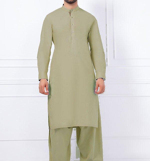 Cotton Latha Unstitched Suit For Men (MSK-57)