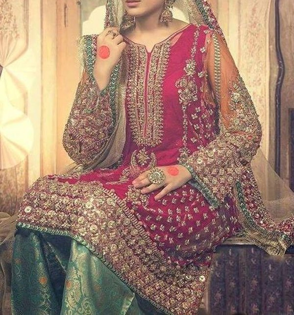 Lawn Embroidered Suit With Lawn Dupatta (DRL-363) (Unstitched)