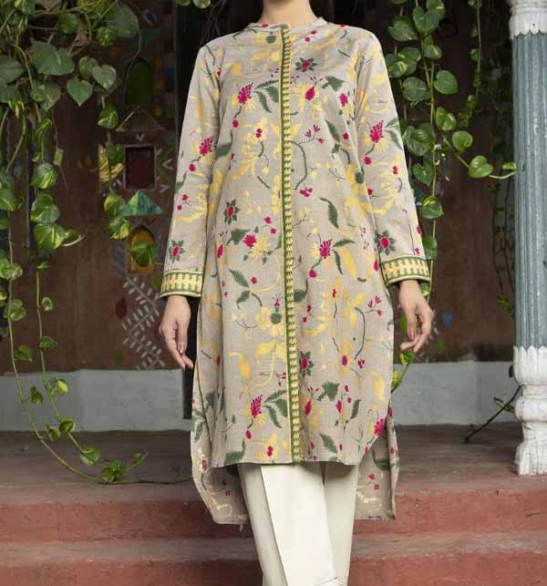 Lawn Full Heavy Embroidery Suit 2 PCS (DRL-720)