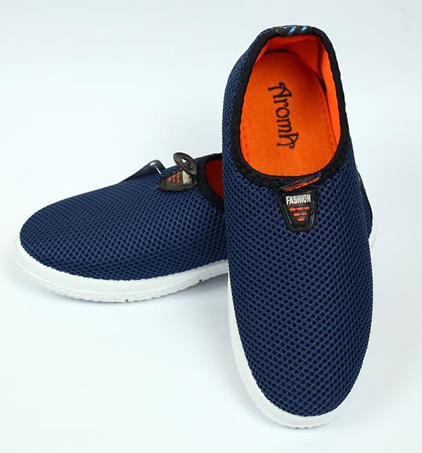 Women Casual Canvas Shoes - Blue Color