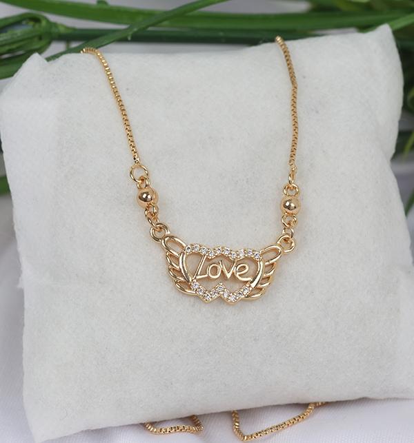 LOVE HEART LOCKET SET Gift For Women's (PS-185)