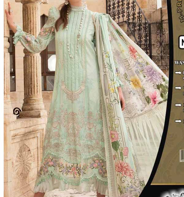 Luxury Lawn Collection 2021 With Chiffon Printed Dupatta (DRL-851)