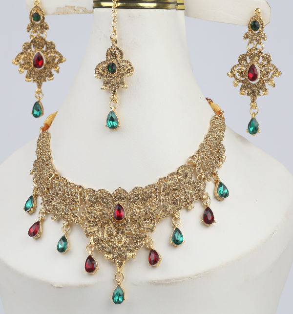 Multi Color Jewellery Set For Girls (PS-293)