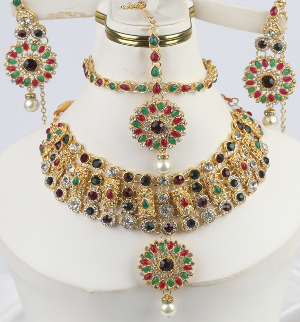 Multi Color Jewelry Set For Girls Online  (PS-283)