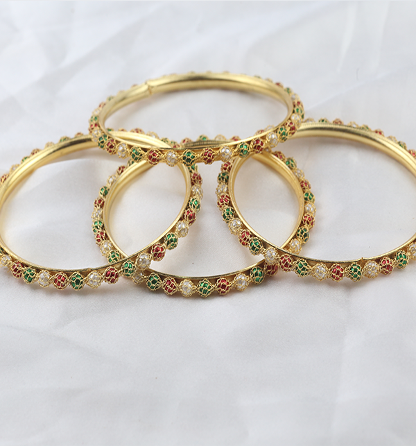 Multicolor Bangles for Girls (BH-71)
