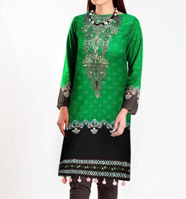 Linen Embroidered Suits With Wool Shawl Unstitched (LN-81)