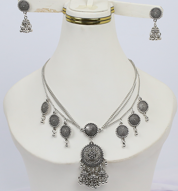Antique Design Jewelry Sets With Earring (PS-212)