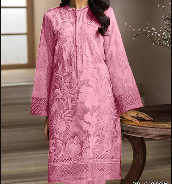 Lawn Full Front Heavy Embroidered Dress 2 Pec Unsitched (DRL-903)
