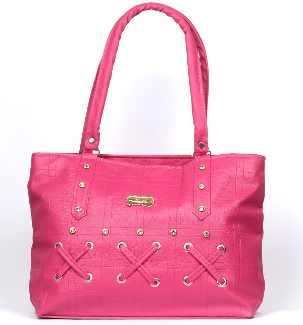 Pink Stylish Shoulder Handbags For Ladies 2020 (HB-109)