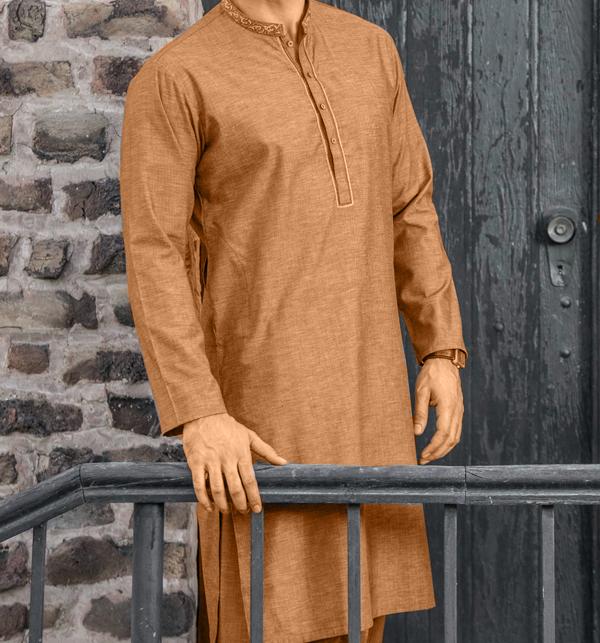 Original Shambay Soft Cotton Mens Shalwar kameez design 2019 (MSK-62) (Unstitched)