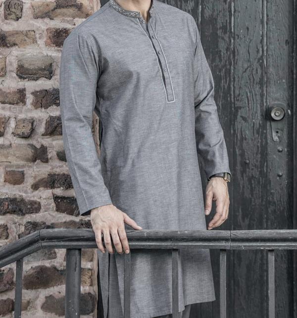 Original Shambay Soft Cotton Mens Shalwar kameez design 2019 (MSK-63) (Unstitched)