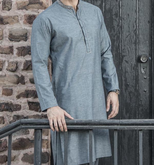 Original Shambay Soft Cotton Shalwar kameez (MSK-64) (Unstitched)