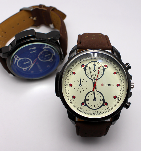 Pack of 2 - Curren Watch for Men