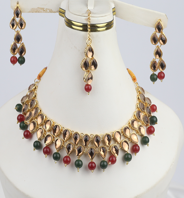 Party Jewelry Set For Girls Latest Design Necklace 2021 (PS-302)