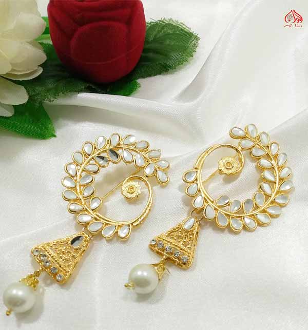 Pearl Earrings Design  (JL-37)