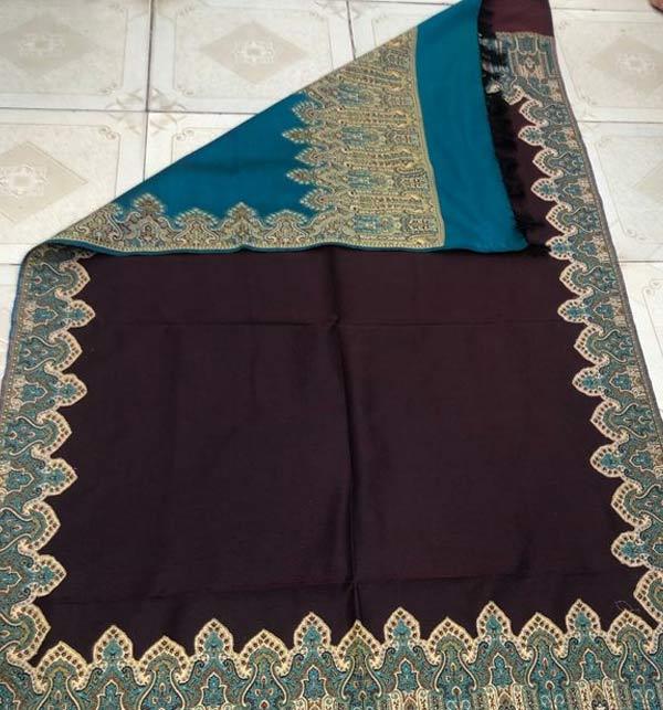 Pashmina Shawl Double Color Full Size (Shawl 26)
