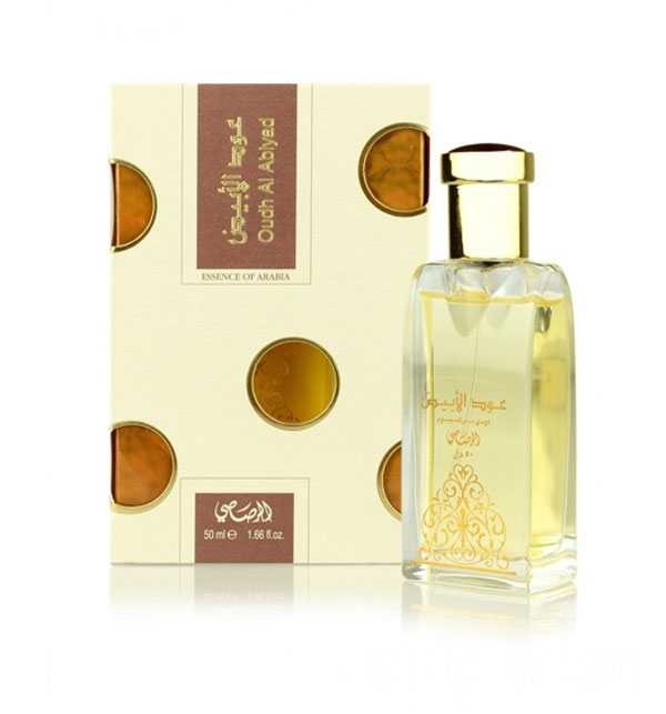 Rasasi Oudh Al Abiyad Eau De Perfum For Unisex 50ml