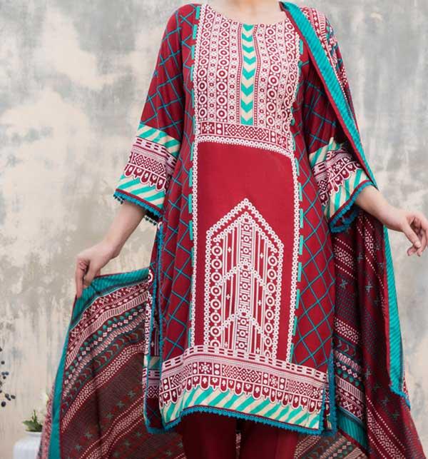 Sahil Printed Linen 2020 Unstitched Suit (SLN-04)