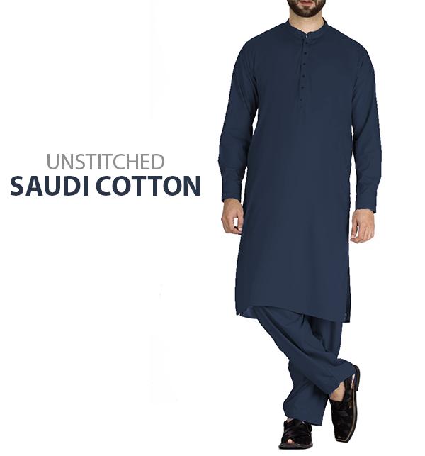 128fb895df Saudia Cotton (Orignal) Men's Kameez Shalwar Unstitched (MSK-50) Online  Shopping & Price in Pakistan