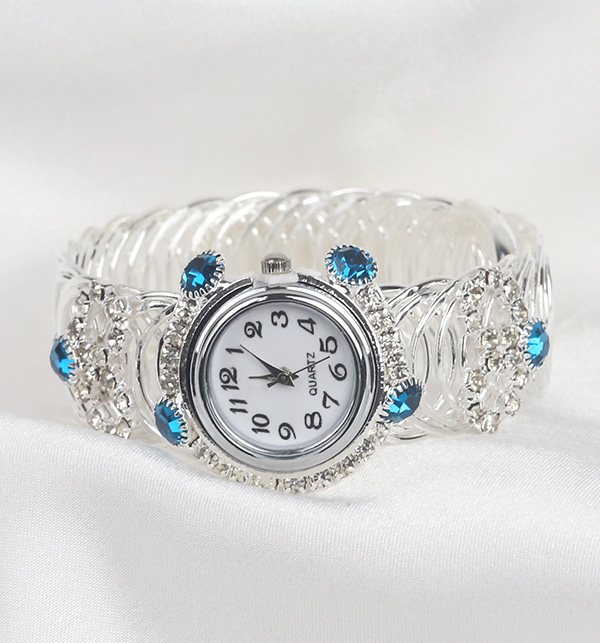 Silver Women's Bracelet Watches (BH-51)