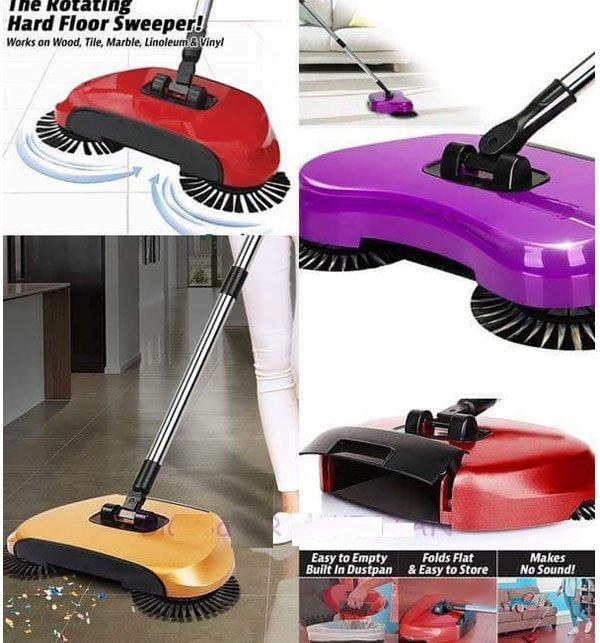 Smart Multi-Function Whirlwind Manual Sweeper Mop