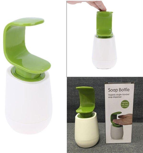 Soap Dispenser Single Hand Press To Liquid Dispenser