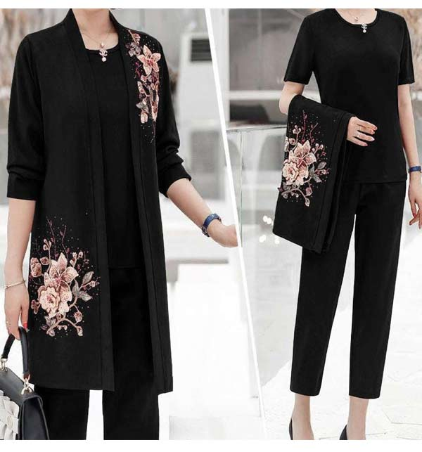 Stitched Linen Suits Collection (LN-184)
