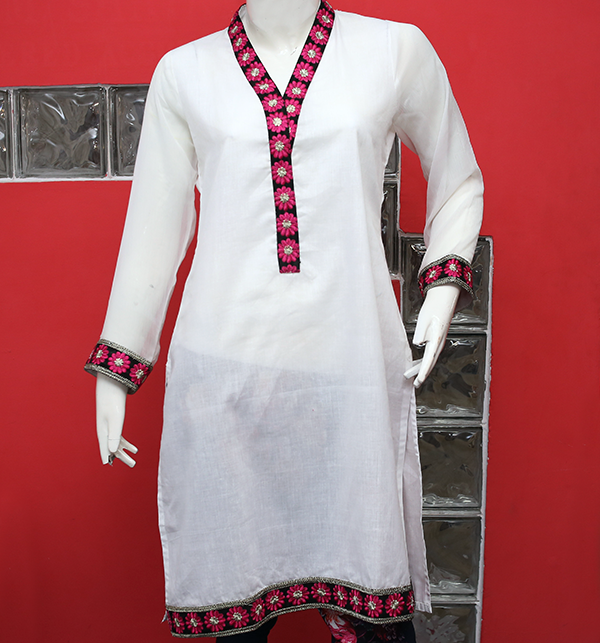 41b782e0 Stylish Kurti Designs 2019 in Pakistan For Girls