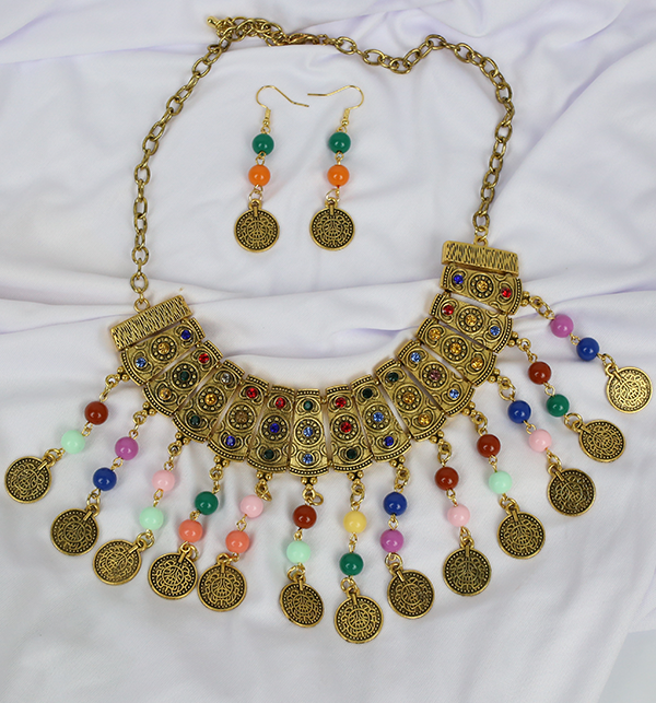 Stylish Multi COlor Jewelry Set  For Girls (PS-194)
