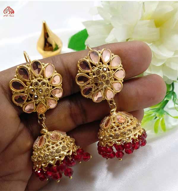 Stylish Round Shape Earrings For Women (JL-34)